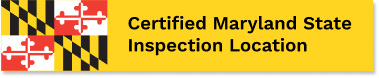 Certified Maryland State Inspection Location